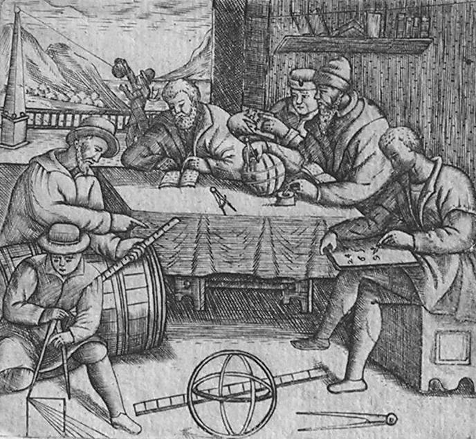 Tafelen van de wannemaat 1665 door Cornelis Eversdijck